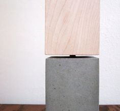 i want this. concrete lamp.