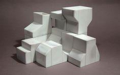 """Tom Lauerman and Fabio J. Fernandez, """"Nonet"""", porcelain, 2009, dimensions variable"""