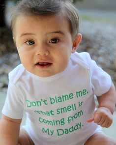 Don't Blame Me.. Funny Baby Onesie - Toddler Tee also available - Your Color Choice