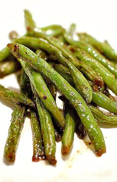 Simple Sauteed Green Beans are a light and tasty side dish.