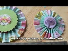 video on how to make rosettes with the martha stewart score board