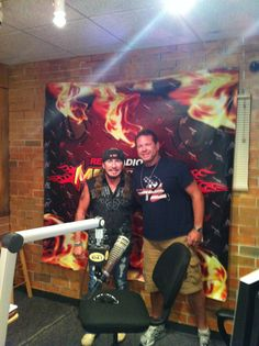 Jimmie Van Zant with Monsters in the Morning Host
