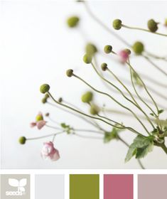 5. Color Theme #modcloth #wedding      pale pinks & greens