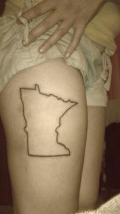 My Minnesota tattoo! I absolutely love where im from