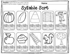 Beginning syllable practice.