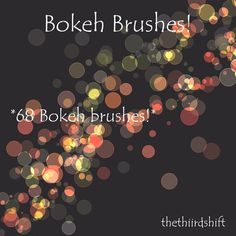 Free Bokeh Brushes for Photoshop