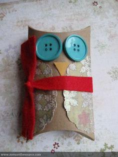 Owl Pillow Box   eyesonthesource.com