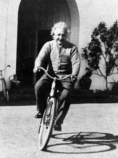 Life is like riding a bicycle. To keep your balance you must keep moving -Albert Einstein i-like-to-ride-my-bicycle