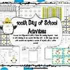 100th Day Activities Aligned to the Common Core-number ordering and sorting, making words, writing, 100s grid practice!