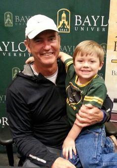 #SicEm #Baylor #futureBear #BaylorEverywhere. My Aiden loves Coach Art Briles!!!