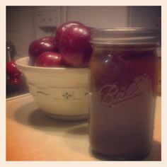 Homemade Apple butter, all natural, (HFCS free and GF)