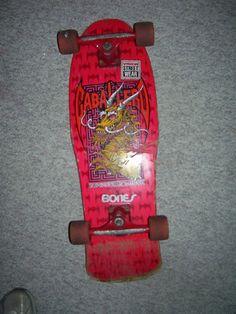 Steve Caballero Vintage Skateboard Powell Peralta Dragon...