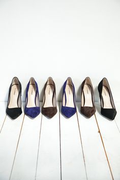 ShoeMint pumps in fall shades