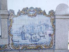 Azulejos /Estação C.Ferro Cabeço de Vide, Portuguese Tiles