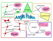 angle rules- new for 4th grade tEKS