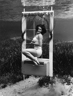 lip, the life aquatic, breath underwat, underwat delight, vintag photo, bruce mozert, underwater photography, underwat photographi, photographi shot