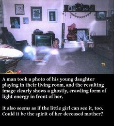 for the gullible, but these are creepy...and I'm gullible :P 32 Real Ghost Photos
