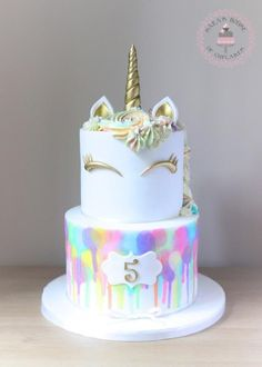 Unicorn cake by Sara