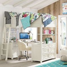 Like my dream room (mostly the loft bed, though!)