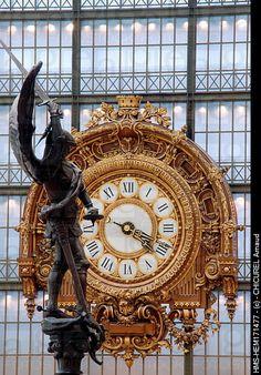 Orsay Museum Clock, Paris