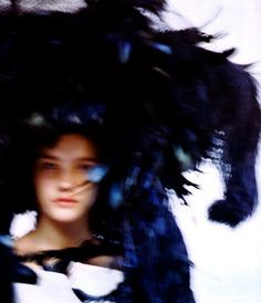 Natalia Vodianova by David Armstrong for V Magazine