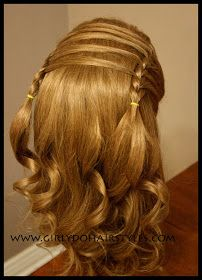 Girly Do Hairstyles: By Jenn: Drag Braid Headband