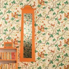 papier peint oiseaux Osborne & Little Howletts