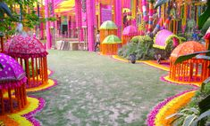 mumbai, wedding planning ideas, indian weddings, floor, wedding decorations, umbrella, indian sangeet decor, photo galleries, bright colours