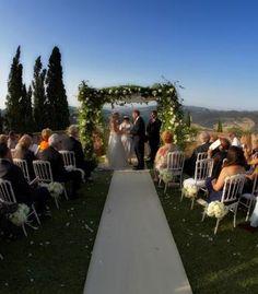 #Outdoor #wedding in Italy