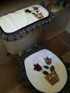 Juego de baño de tulipanes...