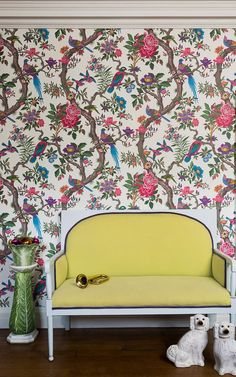 Fontainebleau wallpaper by Cole and Sons