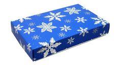 Snowflakes candy box 1/2 pound 2 Piece candy box