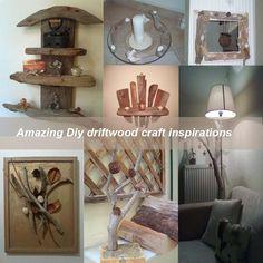 Amazing Diy driftwood craft inspirations