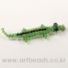 Alligator #beads #beading