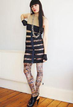 DIY Elastic Cage Dress