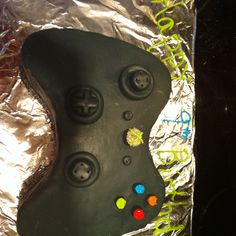 Xbox controller cake I made. Fun!
