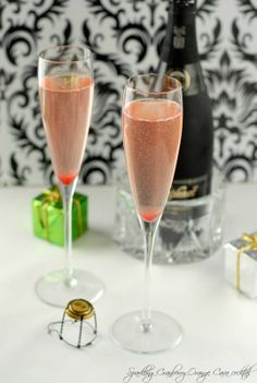 Champagne Cocktail!