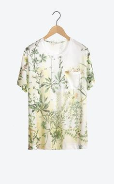 Tee-shirt herbier - Chemise & T-shirt - Homme