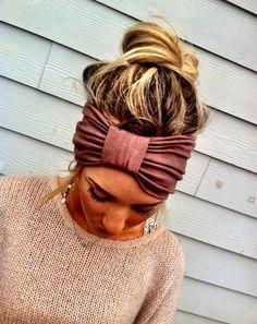 Ivory stretch headband