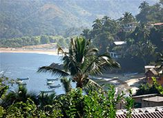 @OneVine Shy Pilates retreat in Yelapa, Mexico: a small village you can only get to by boat!