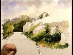 Improve Your Buildings in Watercolour - Part Two - YouTube