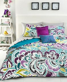 Nadia 3 Piece Comforter Sets -LOVE THE BRIGHT COLORS