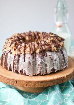 German Chocolate Bundt #Cake