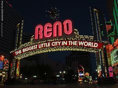 Reno Nevada US   sign, 20 Oct 2010
