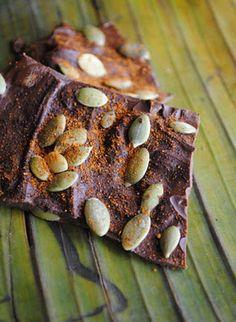 Spicy Chocolate Bark - a recipe by 12 yo homeschooler.