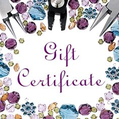 My favorite Fusion Beads Product!!  So I don't just have to choose one. gift card, favorit fusion, fusion bead, famili, gift certificatesfavorit, bead product, fusionbeadscom gift, bead favorit, 25 fusionbeadscom