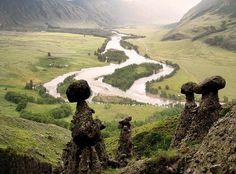 Stone Mushrooms of Altai