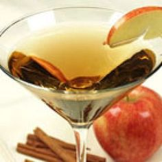 Awesome Apple Martinis Recipe http://www.recipe4living.com/recipes/awesome_apple_martinis.htm