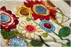 Good tutorial how to transfer an embroidery pattern. Good pictures.