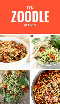 10 Delicious Zoodle